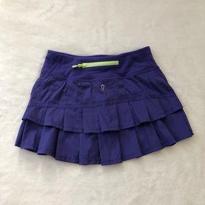 Ivivva purple skirt ruffles 10